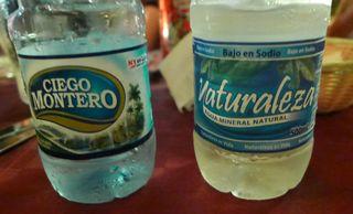 Mineralwasserflaschen - agua mineral, Kuba, Mineralwasser, Flaschen, botella, naturaleza, ciego montero