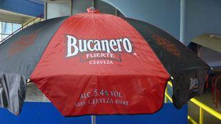Reklame #1 - cerveza, cubano, fuerte, Bier, Kuba, bucanero, Reklame