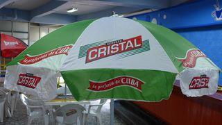 Reklame #1 - Bier, Reklame, cerveza, cubano, Cristal
