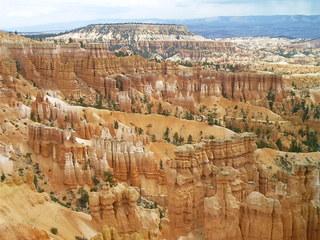 Bryce Canyon - Bryce Canyon, Hoodoos, Sedimente, Erosion, Nationalpark, Utah, Sandstein