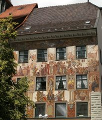 Wandmalerei - Wandmalerei, Fassadenmalerei, Kunst, Maltechnik