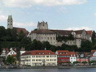 Schloss Meersburg - Meersburg, Burg, Burg Meersburg, Alte Burg, Hauptattraktion, Wahrzeichen