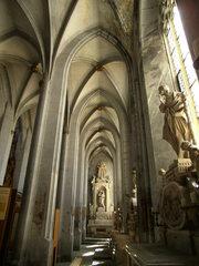 Münster Salem #3 - Münster, Salem, Reichsabtei, Pfarrkrche, katholisch, Gotik, Seitenschiff