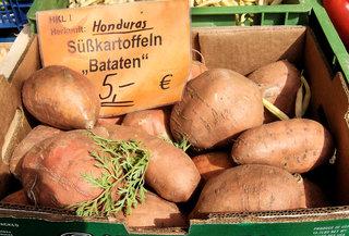 Süßkartoffel - Süßkartoffel, Bataten, Knolle, Gemüse