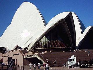 Die Oper von Sydney - Australien, Sydney, Gebäude, Oper, Musik