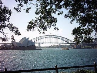 Oper und Brücke von Sydney - Australien, Sydney, Gebäude, Brücke, Harbour Bridge, Oper, Musik