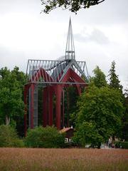 Kloster Ihlow - Teilrekonstruktion - Kloster, Klosterkirche, Kirchengebäude, Rekonstruktion, Gewölbe, Dachreiter