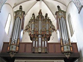 Orgel im Dom zu Ribe - Sehenswürdigkeiten, Domkirche, Orgel, Musik, Bauwerke