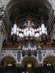 Orgel im Berliner Dom - Kirche, Musikinstrument, Orgel, Tasteninstrument
