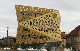 Forum *Gold und Silber*#1 - Bauwerk, Forum, Schwäbisch Gmünd, Architektur