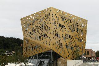 Forum *Gold und Silber*#3 - Bauwerk, Forum, Schwäbisch Gmünd, Architektur