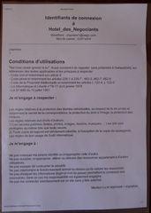 Conditions d'utilisation - conditions, utilisation, internet