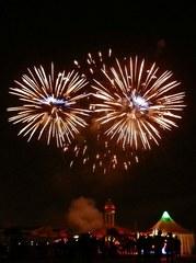 Feuerwerk #6 - Feuerwerk, Nacht, Himmel, Lichter, Farben, leuchten, Feuerwerkskörper, pyrotechnische Gegenstände, koordinierte Zündung, Zündung, Silvester, Neujahr, Pyrotechnik, Rakete, Antrieb, Rückstoß, Licht, dunkel, hell