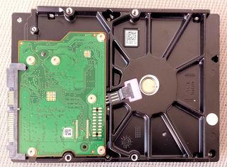 Festplatte - Informatik, PC, Rechner, Festplatte, Computer, ausbauen, Computertechnik, Speichermedium, Magnetplatte, Laufwerk