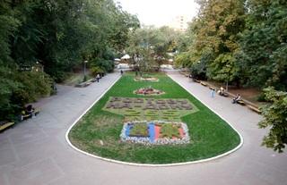 Parkanlage_Gorki-Park in Rostow am Don (Russland)#1 - Park, Parkanlage, blumen, historisch, Russland, Rostow am Don