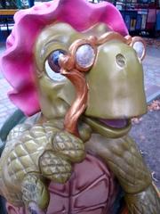 Schildkröte aus dem Märchen_Das goldene Schlüsselchen - Schildkröte, Märchen, Russland, russisch