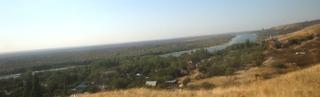Blick auf den Don in der Steppe (Russland) - Don, Stiller Don, Russland, Steppe, Kosaken, Fluss