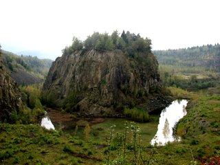 Renaturierter Steinbruch im Harz - Steinbruch, Renaturierung, Rekultivierung, rekultivieren, nachhaltig, Naturschutz, Landschaftspflege, Landschaftsgestaltung