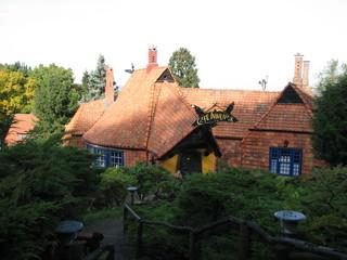 Café Winuwuk Bad Harzburg # 1 Südansicht - Café, Expressionismus, Worpswede, Backstein
