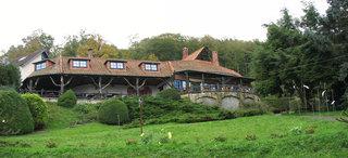 Café Winuwuk Bad Harzburg # 9 Ansicht von Norden - Terrasse, Café, Expressionismus, Backstein, Dachziegel