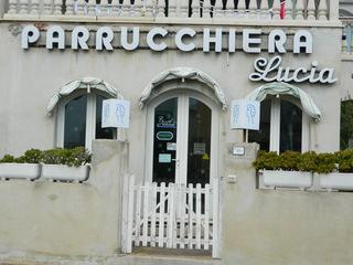 Parrucchiera - Italien, parrucchiera, Frisör, Geschäft, Laden