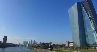 Europäische Zentralbank #2 - EZB, Europäische Zentralbank, Frankfurt/Main, Gebäude, Turm, Hochhaus, Architektur, Skyline