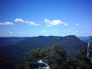 Australien, Blue Mountains - Australien, Gebirge, Landschaft, blaue Berge, blue Mountains, Great Dividing Range