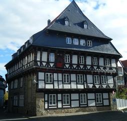 Fachwerkhaus - Haus, Fachwerk, Fachwerkhaus, Fachwerkbau, Fassade, Fachwerkbauweise, Giebel, Holzhaus, Holzbau