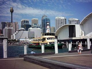 Skyline Sydney-2 - Australien, Sydney, Gebäude, Hochhaus, Wolkenkratzer, Stadt, Großstadt, Skyline, Architektur