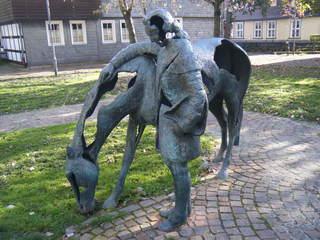 Moritz von Sachsen - Kunst, Künstler, Moritz von Sachsen, Ursula Focke, Skulptur, Bronze, Bronzeskulptur
