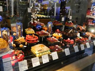 Pâtisserie - tartes - Frankreich, pâtisserie, tarte, fruits, fraises, framboises, Konditorei, Torte, Obst