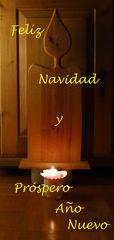 Feliz Navidad y Próspero  Año Nuevo,  - Feliz, navidad, Prospero, Año, nuevo, Weihnachten, Weihnachtsgruß, Grußkarte, Glückwunsch, spanisch