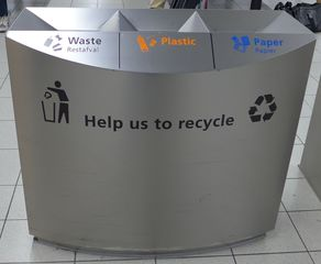 Papierkorb - Papier, Papierkorb, avfal, restavfal, Mülltrennung