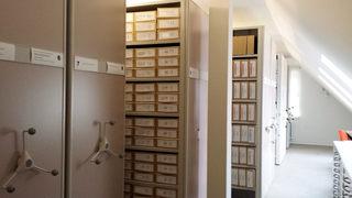 Archiv #1 - Archiv, Stadtarchiv, archivieren, aufbewahren, Folianten, Register, Geschichte, Standesamt, Personenstandsdaten, Eheschließung, Geburt, Todesfall, Einträge, Historie, Dokumentation, wertvoll