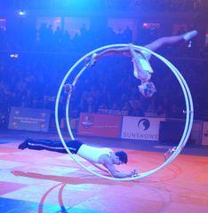 Rhönradartistik #3 - Rhönrad, Artistik, Gymnastik, turnen, Bewegung