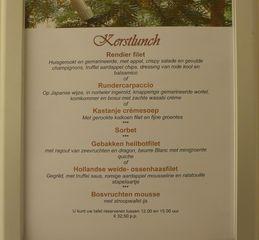 Speisekarte #4 - Speisekarte, Essen, Menu, kerst, kerstbuffet, Buffet, voorgerechten, kerstdiner, kerstlunch