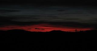 Abendrot - Himmel, Stimmung, Abend, Wolken, Sonnenuntergang, Horizont, Himmelserscheinung, Sonne, Abendrot, Wetter, Wettererscheinung