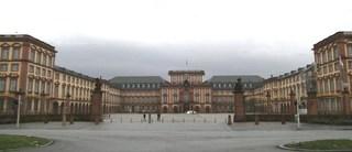Schloss Mannheim - Schloss, Barockbauwerk, Kurpfalz, Universität, Kulturdenkmal