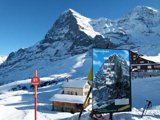 Die Eiger Nordwand - Landschaft, Berge, Urlaub, Schweiz, Alpen, Alpinismus