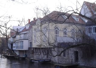 Erfurt Neue Synagoge - Erfurt, Synagoge, Gera, Mikwe