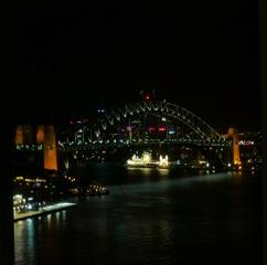 Harbour Bridge #2 - Sydney, NSW, Harbour Bridge, Australien, Down Under, Nachtaufnahme