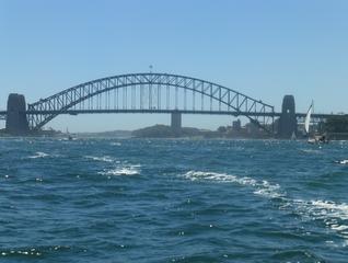 Harbour Bridge #3 - Sydney, NSW, Harbour Bridge, Australien, Down Under, Bogenbrücke, Brücke