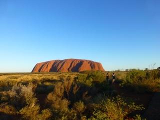 Uluru #3 - Uluru, Ayers Rock, Australien, Down Under, Aborigines, Aboriginal People, Heiliger Berg, Sehenswürdigkeiten, Outback