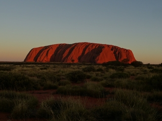 Uluru #6 - Uluru, Ayers Rock, Australien, Down Under, Aborigines, Aboriginal People, Heiliger Berg, Sehenswürdigkeiten, Outback