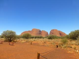 Kata Tjuta (Die Olgas) #1 - Kata Tjuta, Ayers Rock, Australien, Down Under, Aborigines, Aboriginal People, Heiliger Berg, Yulara, Uluru-Kata-Tjuta-Nationalpark, Outback