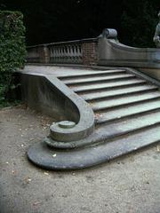 steinerne Treppe in Sanssouci#1 - Treppe, Spirale, Stufen, Geländer, Sanssouci, Potsdam