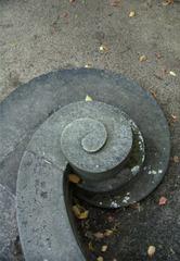 steinernes Treppengeländer in Sanssouci#2 - Treppe, Spiral, Stufen, Geländer, Sanssouci, Potsdam, grau