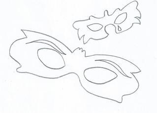 Faschingsmasken - Maske, Masken, Fasching, Karneval, Gesichtsbedeckung, Kostümierung, Verkleidung, Halbmaske, Sprechmaske, Faschingsmaske, Maskerade, Maskierung, Verkleidung, Faschingsfest, Kostümball, Theater, Anlaut M