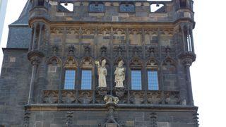 Karlsbrücke Prag Eingangstor #1 - Prag, Karlsbrücke, Tor