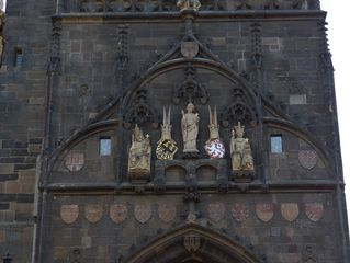 Karlsbrücke Prag Eingangstor #2 - Prag, Karlsbrücke, Tor, Eingangstor, Turm